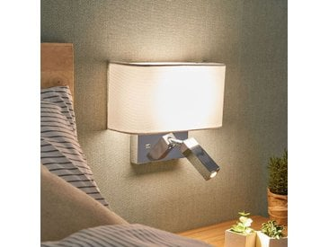 Applique LED Virve avec liseuse et port USB– LAMPENWELT.com