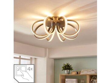 Plafonnier LED en forme de fleur Vada