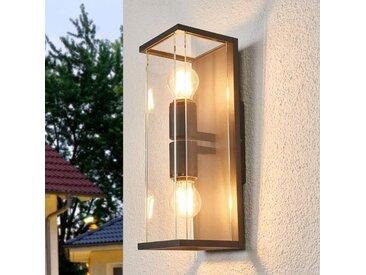 Applique d'extérieur en verre Annalea– LAMPENWELT.com