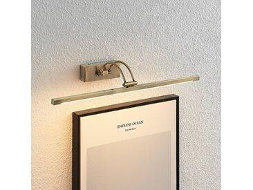 Lucande Felena applique pour tableau LED, laiton
