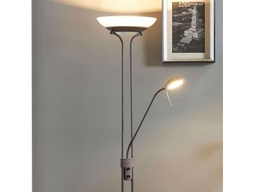 Yveta - lampadaire LED variable rouille– LAMPENWELT.com