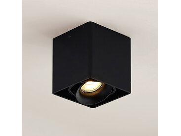 Arcchio Kubika downlight GU10 à 1 lampe, noir