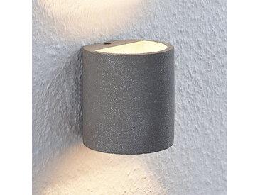 Lindby Edvin applique LED en béton, cylindre