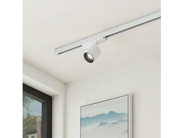 Arcchio Candra spot rail LED, blanc 17,5W 4000K