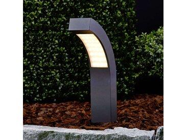 Luminaire pour socle LED courbé Lennik 40 cm– LAMPENWELT.com