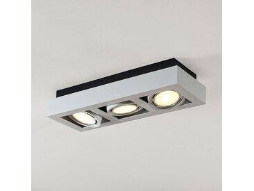 Spot pour plafond LED Ronka, 3 lampes, blanc