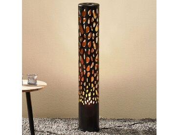Lampadaire LED Organic noir avec Flame Bulb– LAMPENWELT.com