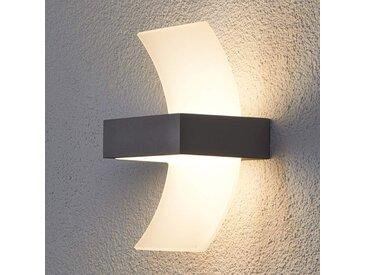 Applique d'extérieur LED Skadi courbée– LAMPENWELT.com