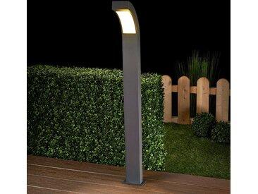 Borne lumineuse LED Lennik gris graphite– LAMPENWELT.com