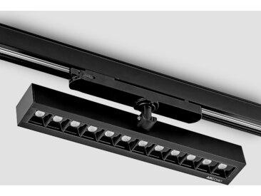 Arcchio Millay spot sur rail LED noir 4000K