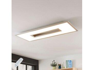 Plafonnier LED Durun, dimmable, CCT, carré, 96 cm– LAMPENWELT.com