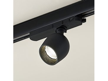 Arcchio Millay spot sur rail LED, noir 4000K