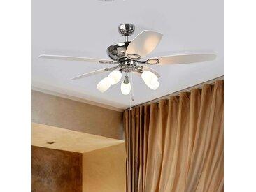 Ventilateur de plafond à 5 pales Cedrik– LAMPENWELT.com