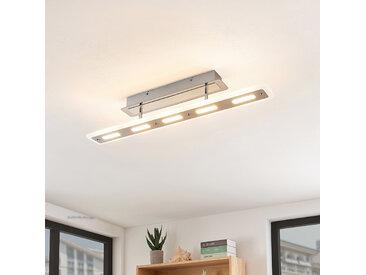 Lindby Lavea plafonnier LED chromé