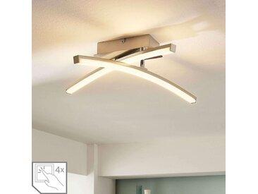 Plafonnier LED dimmable sur 4 niveaux Laurenzia– LAMPENWELT.com