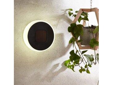 Lampe solaire LED Benka, forme de disque, 20cm– LAMPENWELT.com