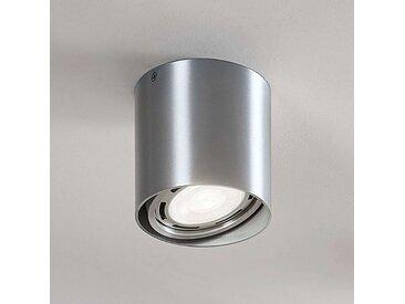Downlight LED Rosalie à 1 lampe, rond, alu– LAMPENWELT.com