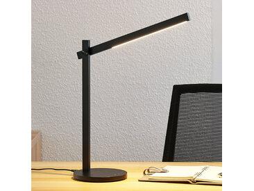 Lampe de bureau LED Loretta, linéaire, noir