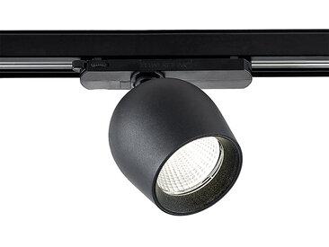 Arcchio Bauke spot sur rail LED noir 24W 4000K