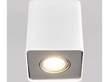 Downlight LED Giliano à 1 lampe, angulaire, blanc