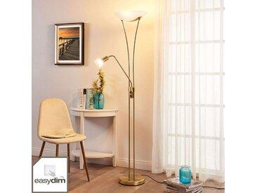 Lampadaire LED Felicia avec liseuse– LAMPENWELT.com