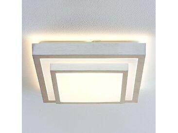 Lindby Mirco plafonnier LED angulaire, 37,5 cm