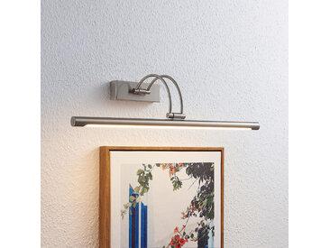 Lucande Dimitrij applique pour tableau LED, nickel