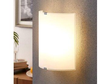 Élégante applique en verre Phil– LAMPENWELT.com