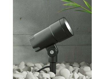 Projecteur d'extérieur LED Daja gris foncé, IP65– LAMPENWELT.com