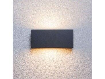 Applique d'extérieur Bente couleur graphite