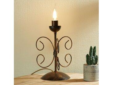 Lampe à poser Ennio, or ancien– LAMPENWELT.com