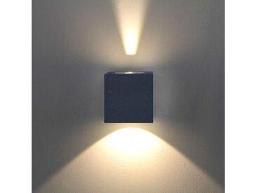 Applique d'extérieur LED Jarno coloris graphite– LAMPENWELT.com