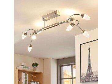 Plafonnier LED Deyan à 8 lampes, allongé– LAMPENWELT.com