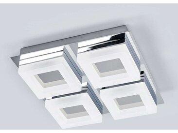 Plafonnier LED de salle de bain à 4 lampes Marija– LAMPENWELT.com