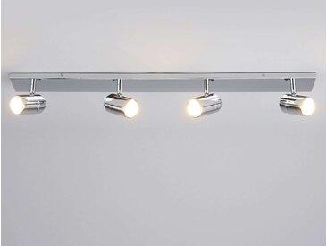 Plafonnier pour salle de bains Dejan à 4 lampes