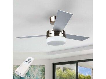 Ventilateur de plafond à 3 pales Alvin à lumière– LAMPENWELT.com