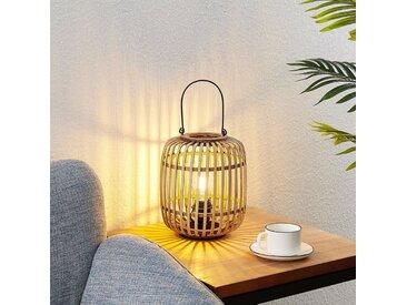 Lindby Canyana lampe à poser en rotin, naturel