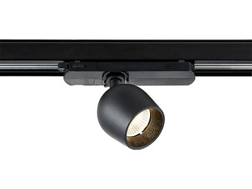 Arcchio Millay spot sur rail LED, noir 3000K
