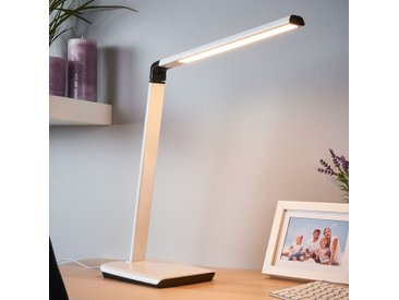 Lampe de bureau Kuno, port USB, variable LED