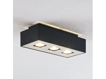 Lindby Kasi plafonnier à 3 lampes, 34 x 14cm