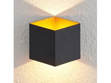 Arcchio Alima applique LED, dimmable, IP44, noire