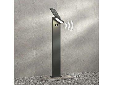 Borne LED solaire Silvan avec détecteur, 100 cm– LAMPENWELT.com