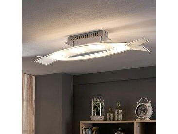 Plafonnier LED en verre Elina– LAMPENWELT.com