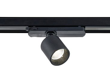 Arcchio Candra spot sur rail LED, noir 9W 4000K