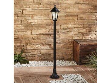 Borne lumineuse Nane lanterne, noir– LAMPENWELT.com