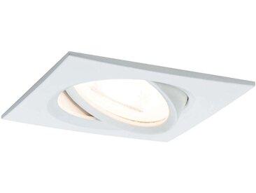Paulmann spot LED Nova Coin carré, dimmable, blanc