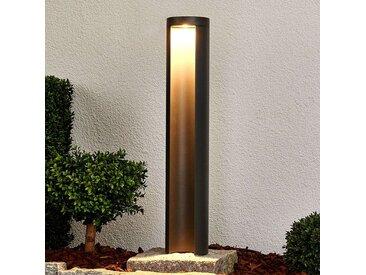 Borne lumineuse LED Jaron gris graphite– LAMPENWELT.com