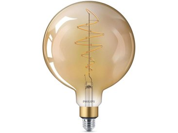 Philips E27 Giant ampoule globe LED 6,5W doré