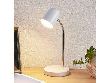 Lindby Jegor Lampe à poser LED en blanc