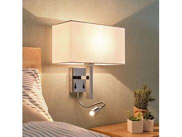 Applique bras liseuse Pelto avec 2 interrupteurs– LAMPENWELT.com